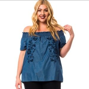 Tops - *Casual Cool HP* Boho Off-Shoulder Blouse